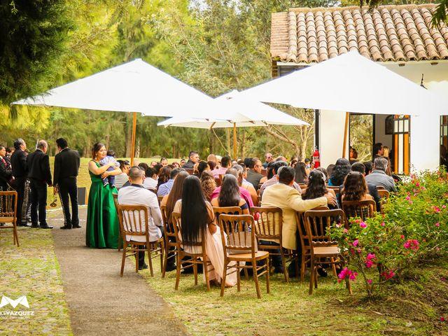 La boda de Óscar  y Deha  en Comala, Colima 16