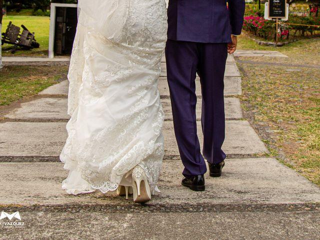 La boda de Óscar  y Deha  en Comala, Colima 35