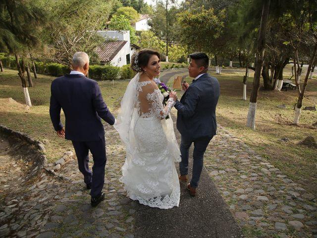 La boda de Óscar  y Deha  en Comala, Colima 45