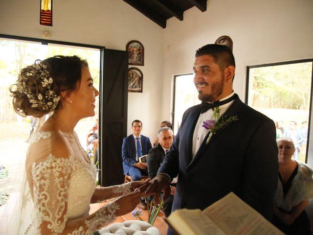 La boda de Óscar  y Deha  en Comala, Colima 60