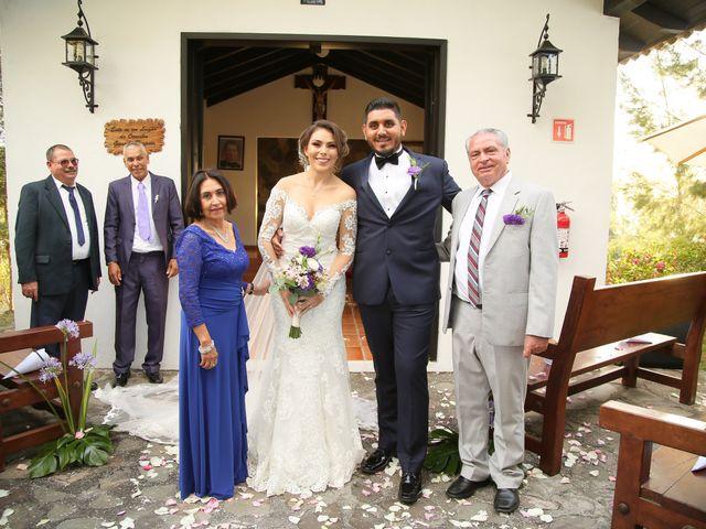 La boda de Óscar  y Deha  en Comala, Colima 64
