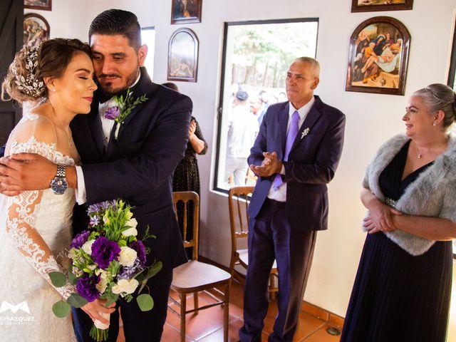 La boda de Óscar  y Deha  en Comala, Colima 65