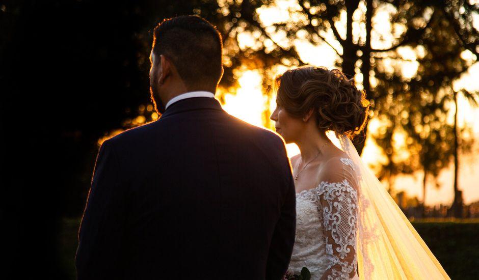 La boda de Óscar  y Deha  en Comala, Colima