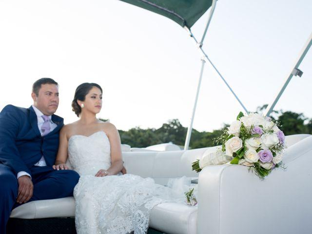 La boda de Valerie y Omar