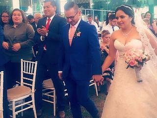 La boda de Joel y Ericka