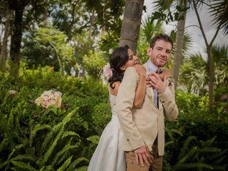 La boda de Michele y Marcel