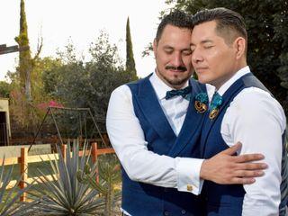 La boda de Alberto y Miguel
