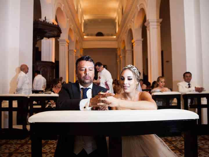 La boda de Paulina y César