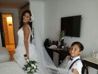 La boda de Esthela y Samy  3