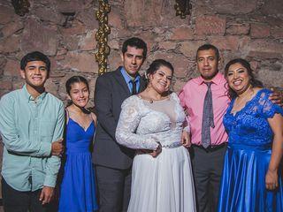 La boda de Erika  y Gibran Moisés  2