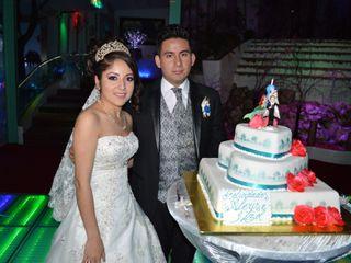 La boda de itzel y Alexis