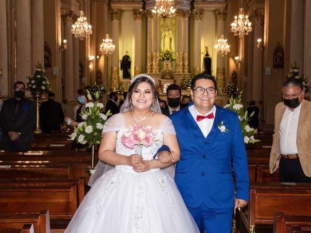La boda de Gabriel y Mayra en San Luis Potosí, San Luis Potosí 1