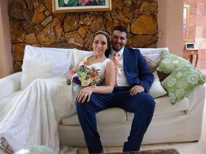 La boda de Elizabeth y Moises