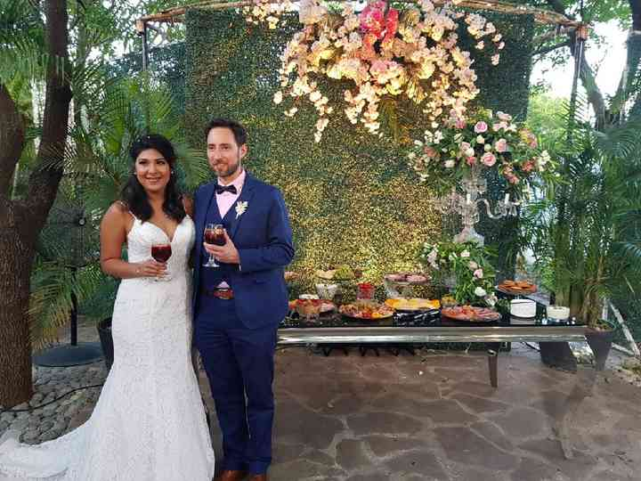 La boda de Miluska y Martin