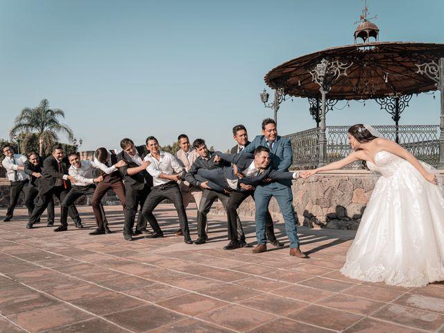 La boda de Julio y Fernanda en Querétaro, Querétaro 6