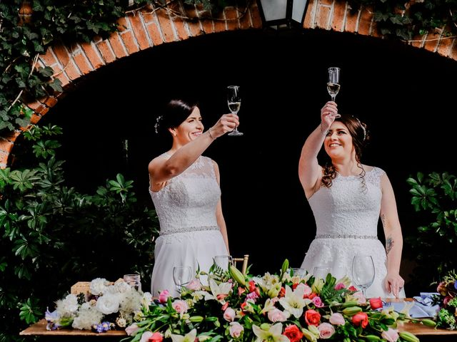 La boda de Thalía y Diana