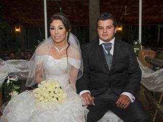 La boda de Viviana  y Oscar