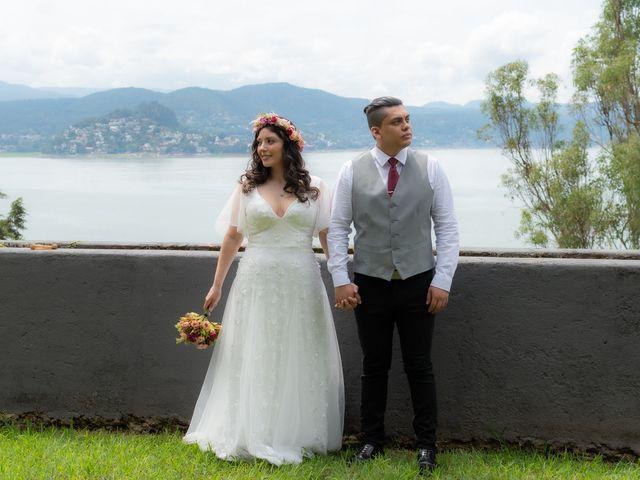 La boda de Diego y Jessica en Valle de Bravo, Estado México 1