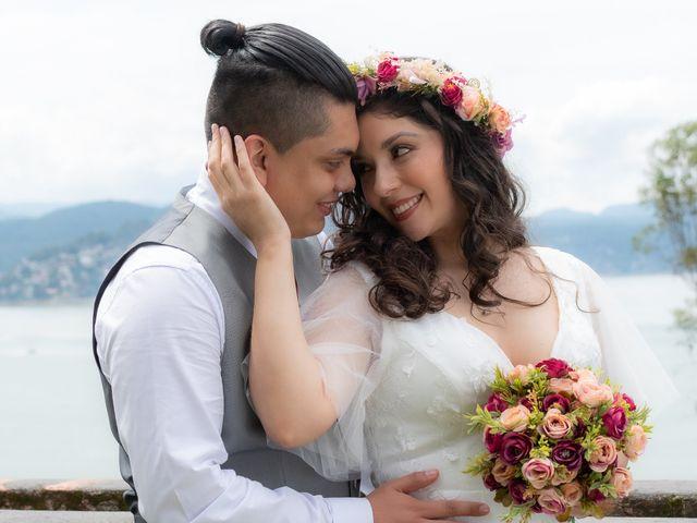 La boda de Diego y Jessica en Valle de Bravo, Estado México 15