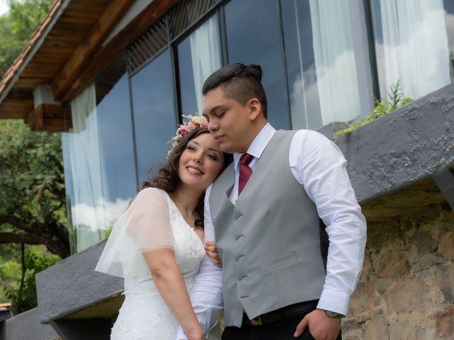 La boda de Diego y Jessica en Valle de Bravo, Estado México 18