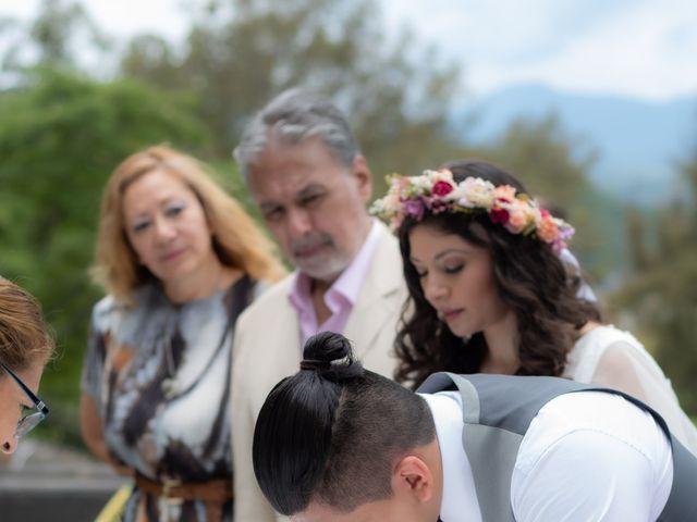 La boda de Diego y Jessica en Valle de Bravo, Estado México 21