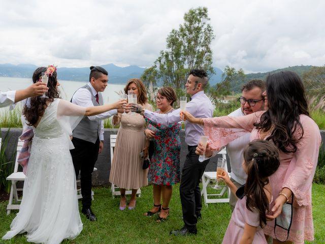 La boda de Diego y Jessica en Valle de Bravo, Estado México 25