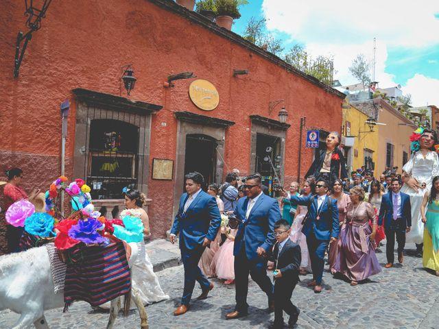 La boda de Raúl y Jessica en San Miguel de Allende, Guanajuato 15