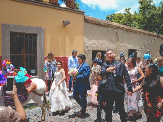 La boda de Raúl y Jessica en San Miguel de Allende, Guanajuato 16
