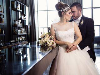 La boda de Izza y René