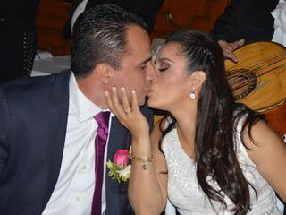 La boda de Sandina y César