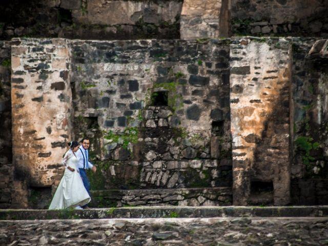 La boda de Víctor  y Claudia  en Huasca de Ocampo, Hidalgo 2