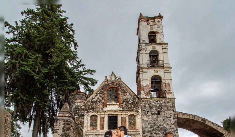 La boda de Víctor  y Claudia  en Huasca de Ocampo, Hidalgo