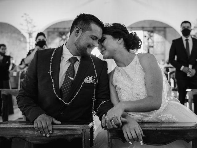 La boda de Carina y Alex