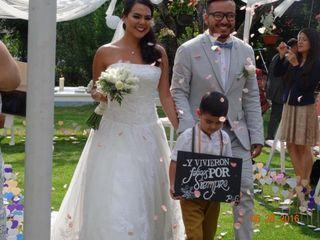 La boda de Paola y George