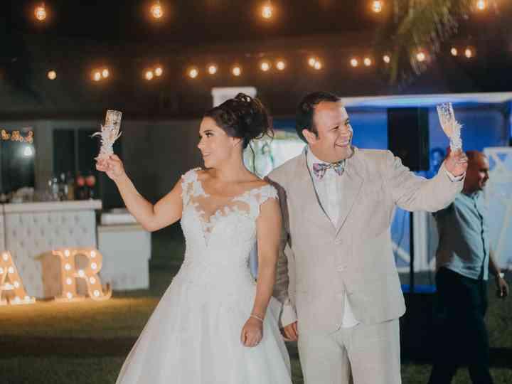 La boda de Wendy y Cristian