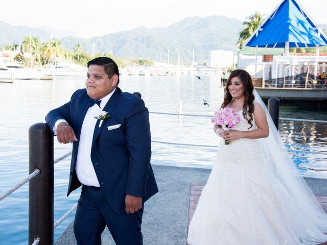 La boda de David y Aglaé en Puerto Vallarta, Jalisco 16