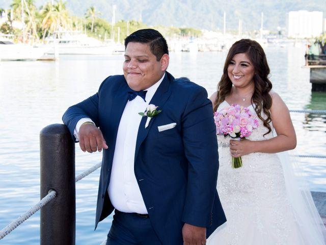 La boda de David y Aglaé en Puerto Vallarta, Jalisco 17