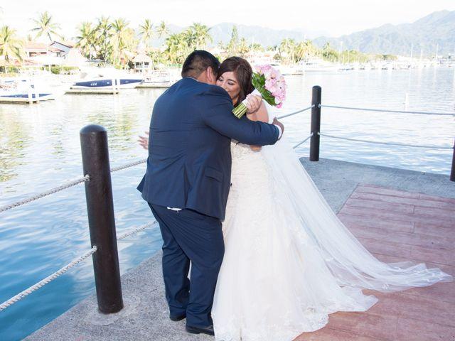 La boda de David y Aglaé en Puerto Vallarta, Jalisco 19