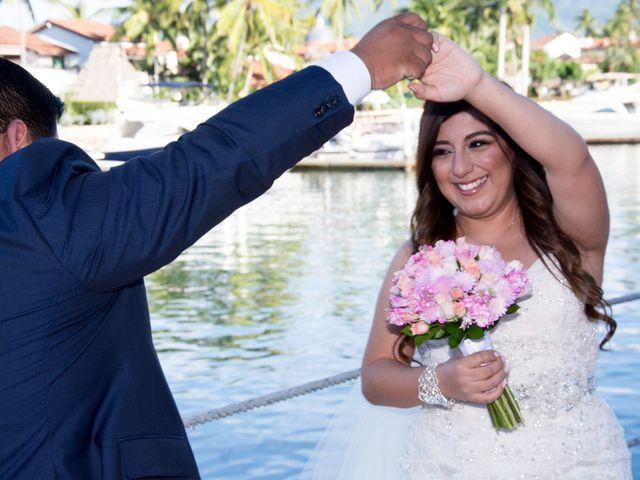 La boda de David y Aglaé en Puerto Vallarta, Jalisco 20