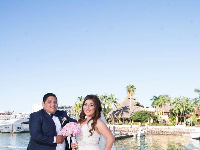 La boda de David y Aglaé en Puerto Vallarta, Jalisco 22