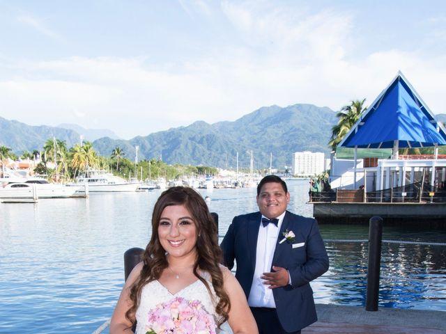 La boda de David y Aglaé en Puerto Vallarta, Jalisco 23