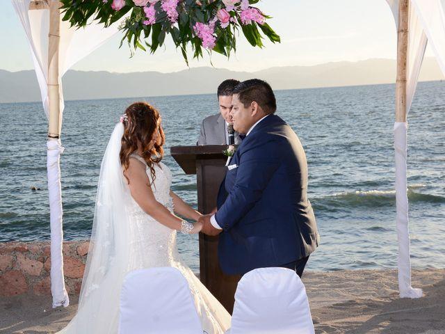 La boda de David y Aglaé en Puerto Vallarta, Jalisco 29