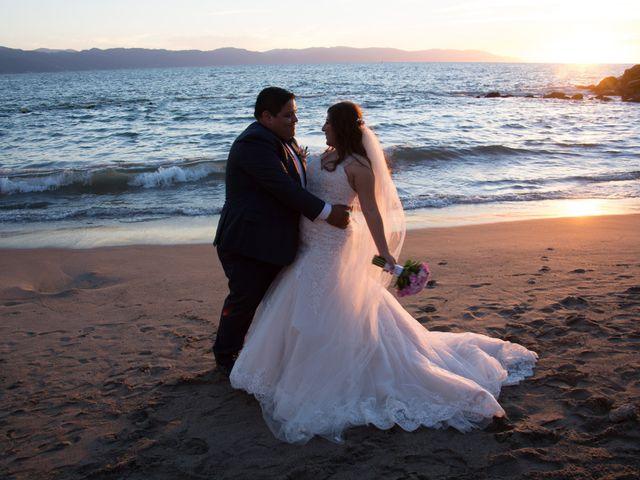 La boda de David y Aglaé en Puerto Vallarta, Jalisco 30