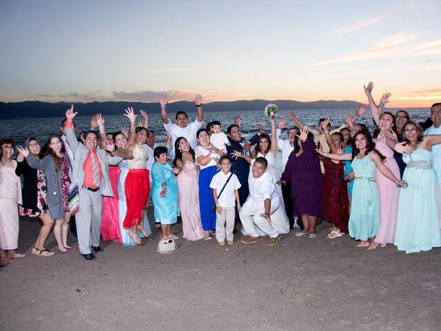 La boda de David y Aglaé en Puerto Vallarta, Jalisco 34