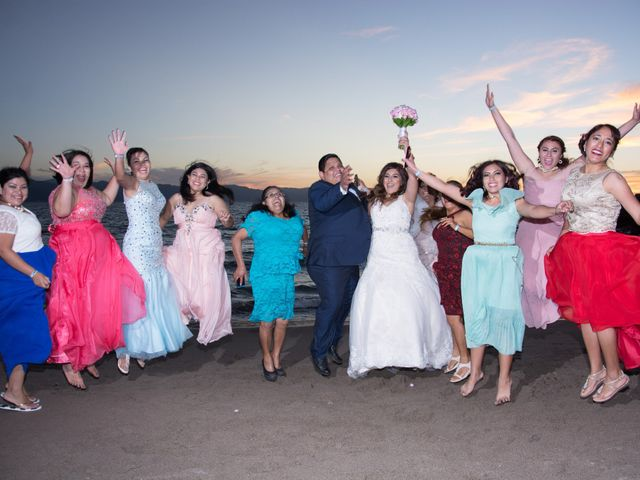 La boda de David y Aglaé en Puerto Vallarta, Jalisco 35