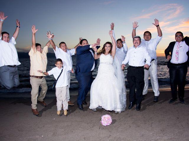 La boda de David y Aglaé en Puerto Vallarta, Jalisco 36