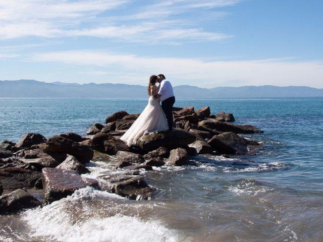 La boda de David y Aglaé en Puerto Vallarta, Jalisco 2