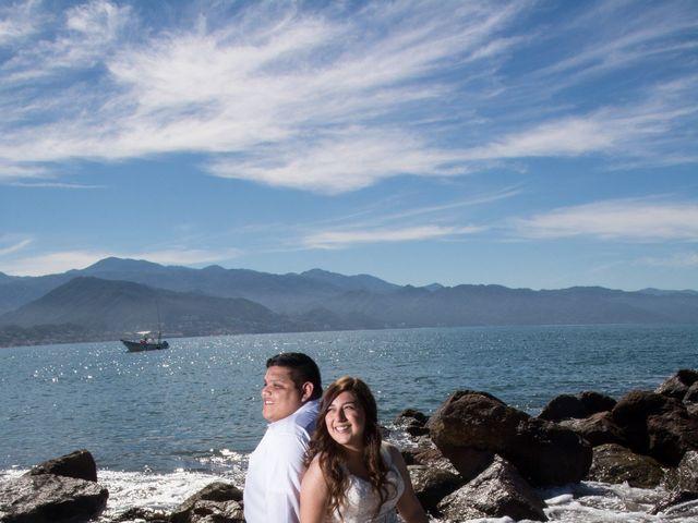 La boda de David y Aglaé en Puerto Vallarta, Jalisco 53