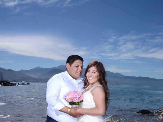 La boda de David y Aglaé en Puerto Vallarta, Jalisco 50
