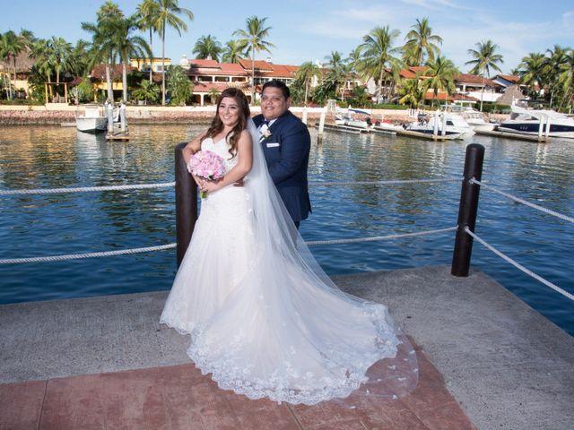 La boda de David y Aglaé en Puerto Vallarta, Jalisco 1